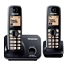 Panasonic 220 Volt KX-TG3712 Cordless Phone 2-Handsets 220V-240V For Export Only