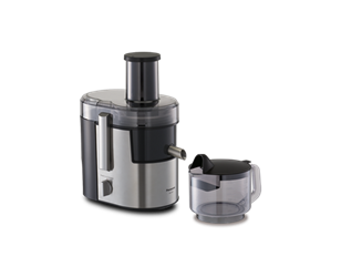 Panasonic MJ-DJ01S Juicer 800W Juice Extractor Stainless Steel 220-240 Volt OVERSEAS USE ONLY