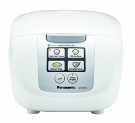 Panasonic NEW SR-DF181 10 Cup Rice-Cooker - Porridge - (NOT FOR USA) 220V 240V