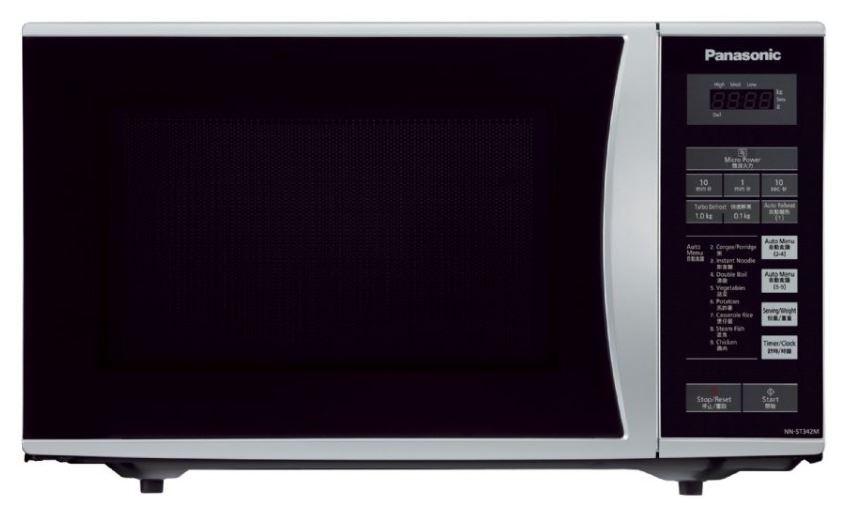 Panasonic Nn St342 220 Volt 25l Microwave Oven