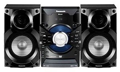 Panasonic Panasonic Sc Vkx25 Stereo System Bluetooth 110 220 Volt 450w Powerful Sound Sc Vkx25