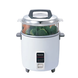 Panasonic NEW 220V 12 Cup Rice Cooker Steamer FOR OVERSEAS ONLY Euro Plug
