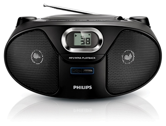 Philips 220 Volt CD w/USB & MP3 Player 220v Europe Asia Africa Voltage