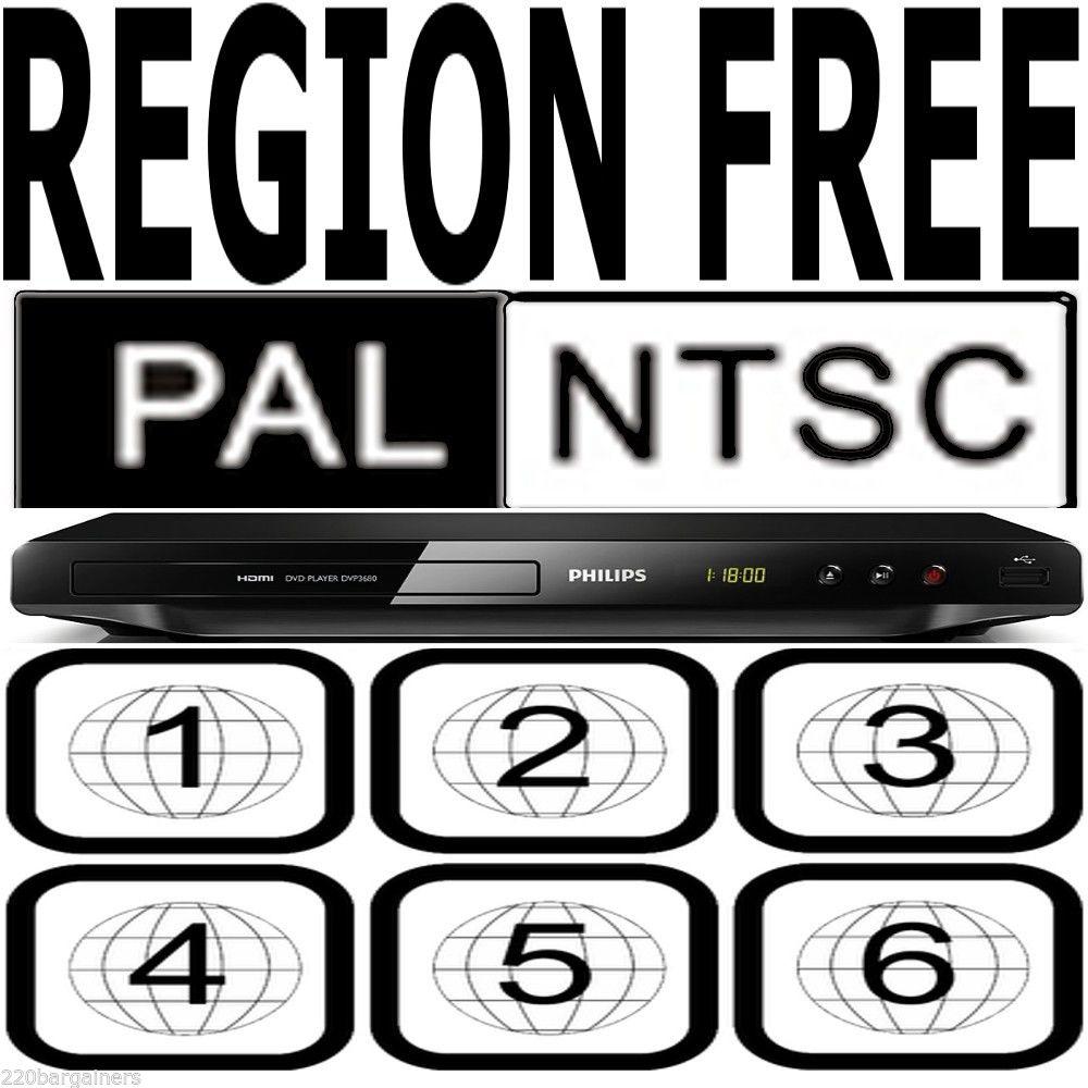 Philips Best 1080P All Region Free DVD Player Code Free PAL NTSC HDMI USB  Karaok