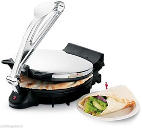 "Revel Large 10"" Tortilla Maker - Makes Tortilla Roti Flatbread 120v"