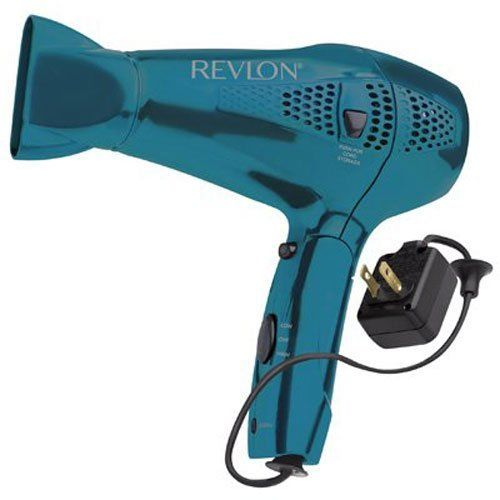 Revlon RVDR5175 1875 Watt Retractable Cord Hair Dryer 110-220V WORLDWIDE USE