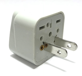 SS-410 Universal Plug Adapter for Standard USA Outlet American plug adaptor,US adapter plug,adapter,plug socket,universal plug,adapters,US,USA,europe,asia,africa,india,uk,universal adapters,220 plug,220v adapter,220 volt adapter,220 adaptor