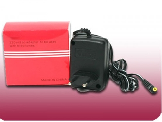 6.5v 220V AC Power Adapter 500ma European Style 220 Volt Plug