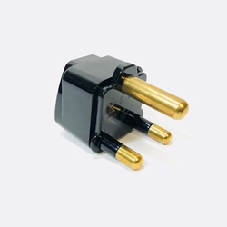 SS415SA South Africa Universal Grounded Plug Adapter Black plug adapter,adapter plug,adaptor,ss415sa,plug socket,universal plug,adapters,south africa,europe,asia,africa,india,uk,universal adapters,220 plug,220v adapter,220 volt adapter,220 adaptor