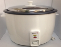 Saachi SA1280 25-Cup Extra Large Size Rice Cooker 110 Volt for USA Saachi SA1380, SA1380, SAACHI RICE COOKER, 220-240V, 220-240 VOLT, RICE COOKER FOR EXPORT, RICE COOKER FOR OVERSEAS, INTERNATIONAL RICE COOKER