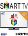 Samsung NEW 40 in. Smart TV PAL NTSC Multi System LED TV Worldwide Use