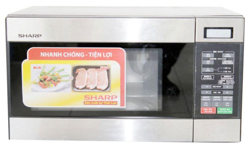 Sharp R 299 220 Volt Medium Size 22l Microwave Oven