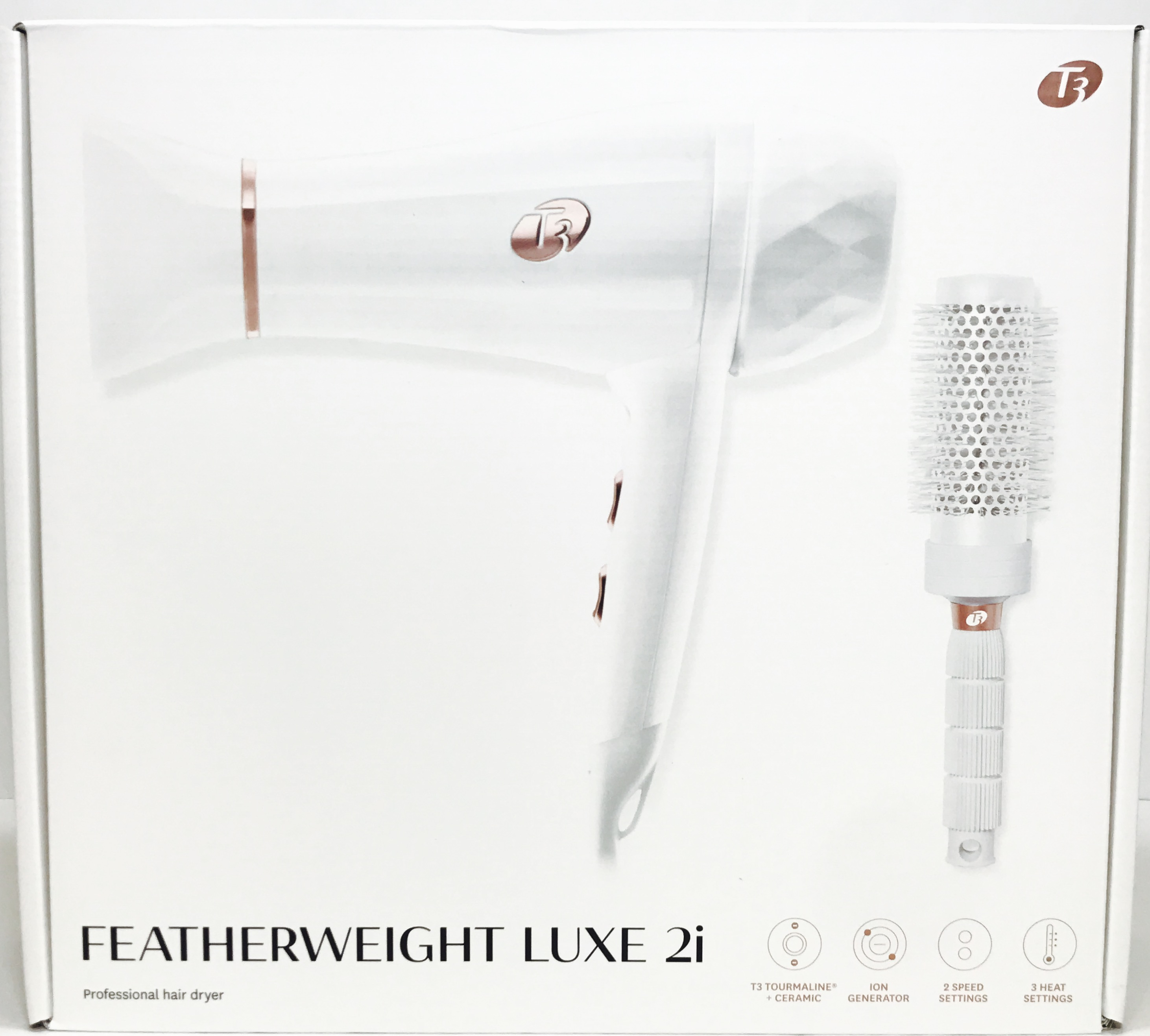 T3 Featherweight 2i Hair Dryer White