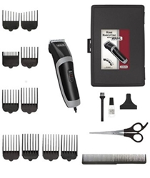 Wahl 9655 Corded Hair Clipper Beard Trimmer Dual Voltage For Worldwide Use