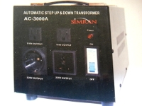 Simran 3000 Watt Step Up Down Automatic Voltage Converter AC-3000W Simran AC3000A, AC3000W, 3000W, AC-3000W,3000 Watt voltage Converter, AC3000A Transformer, two way transformer, 220v to 110v, 110v to 220v, Step Up, Step Down, Voltage Converter, power converter, power transformer, AC3000, AC-3000A, AC-3000, simran, AC3000A