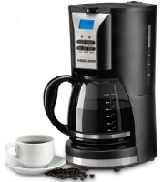 Black And Decker DCM90 12-Cup 220 Volt Programmable Coffee Maker Black And Decker DCM90, 220-240 VOLT, 220V, 220-240, 240V, 220V COFFEEMAKER, 220 COFFEEMAKER, 220 VOLT COFFEEMAKER