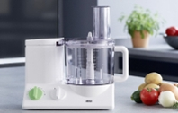 Braun NEW 220 Volt Food Processor With 7 Attachments (NON-USA) for Europe Asia