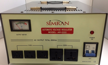 10000 Watt Voltage Converter with Stabilizer AR10000 simran ar10000 voltage stabilizer, 10000 w watt transformer, voltage regulator, ar-10000 converter stabilizer, 10000w, 10000 watts, voltage,power,220 volt,220v,110v,120v,110 volt,volts,watts,watt,transformers,stabilizers,convertor,simran,seven star,sevenstar,smvs,ar10000,atvr