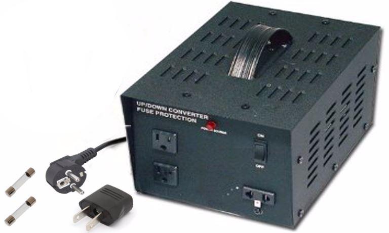 TC1500 110V 220V Power Source Voltage Converter 1500 W Watt Transformer 1500W