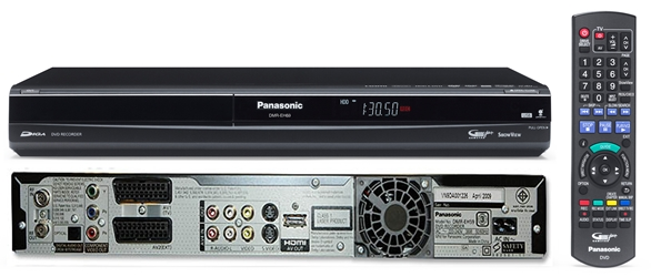 Panasonic NEW DMR-EH69 320GB Hard Drive DVD Recorder PAL NTSC Multi System DVR
