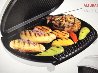 George Foreman NEW 220v Large Grill Europe UK Asia Africa 220 volt Power Cord