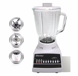Oster 4172 220 Volt 10 Speed Blender with Glass Jar