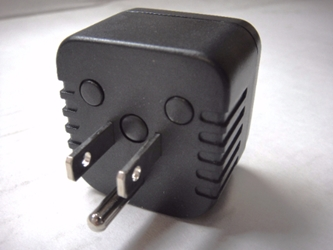 US Grounded Plug Adapter - Change Australia/New Zealand Plug into 3-Pin US Plug