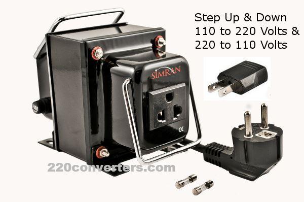 300 Watt Voltage Converter Auto 110 220 Volt Step Up Down Power Transformer